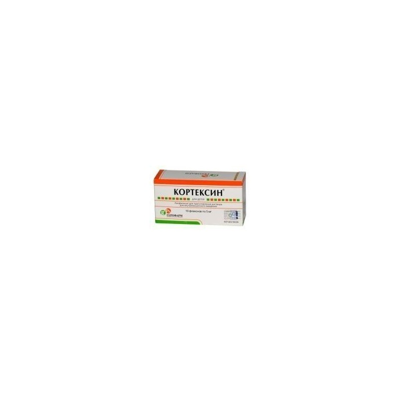 Buy Cortexin vials 5 mg, 3 ml, 10 pcs