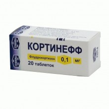 Buy Cortineff pills 0.1 mg, 20 pcs