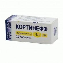 Buy Cortineff pills 0.1 mg, 20 pcs