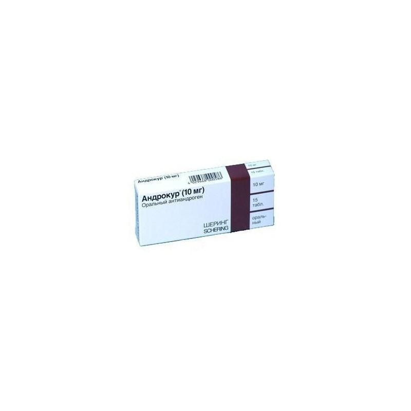 Buy Androcur pills 10 mg, 15 pcs