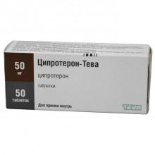 Buy Cyproterone-Teva pills 50 mg 50 pcs