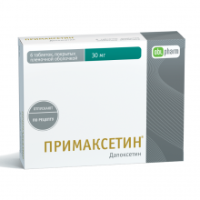 Buy Primaxetine pills 30 mg 6 pcs