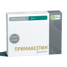 Buy Primaxetine pills 30 mg 6 pcs