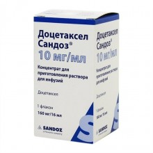 Buy Docetaxel Sandoz solution concentrate 10 mg/ml 16 ml flak.1sht.