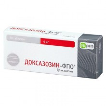 Buy Doxazosin-FPO pills 4 mg 30 pcs