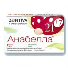 Buy Anabella pills 3 mg + 0.03 mg 84 pcs