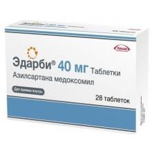Buy Edarbi pills 40 mg, 28 pcs