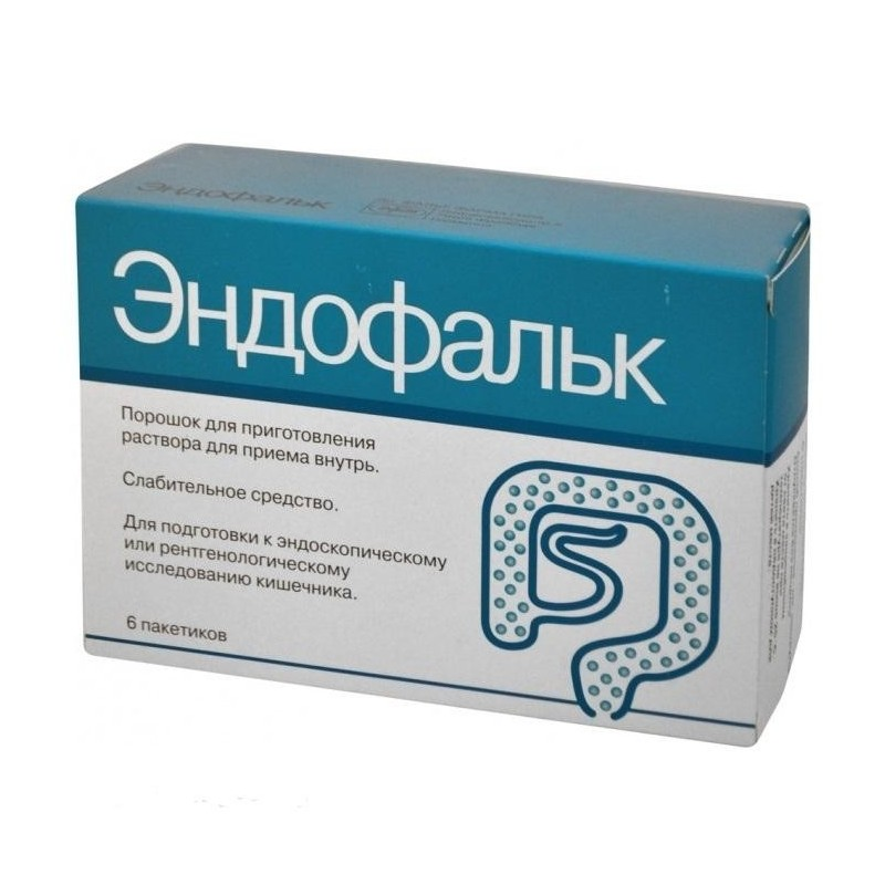 Buy Endofalk solution 55.318 g sachets, 6 pcs