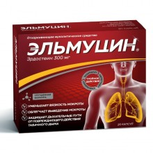 Buy Elmucin capsules 300 mg 20 pcs