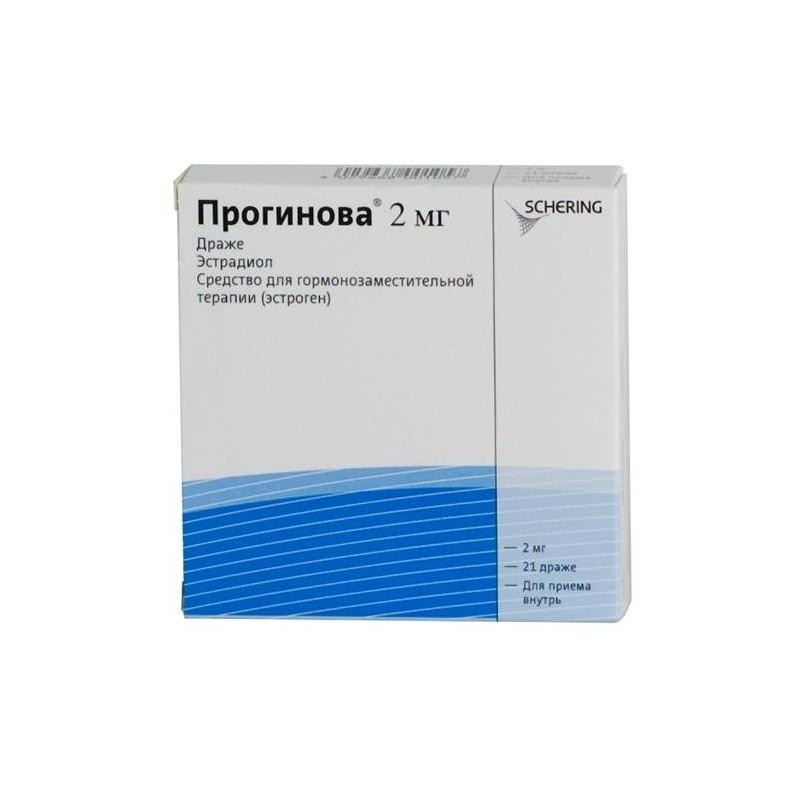 Buy Proginova dragee 2 mg, 21 pcs