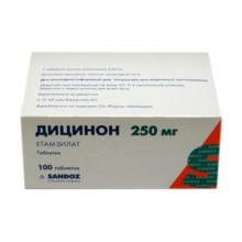 Buy Dicynon pills 250 mg 100 pcs