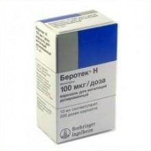 Buy Berotec N inhalation spray 100 mcg/dose, 200 doses