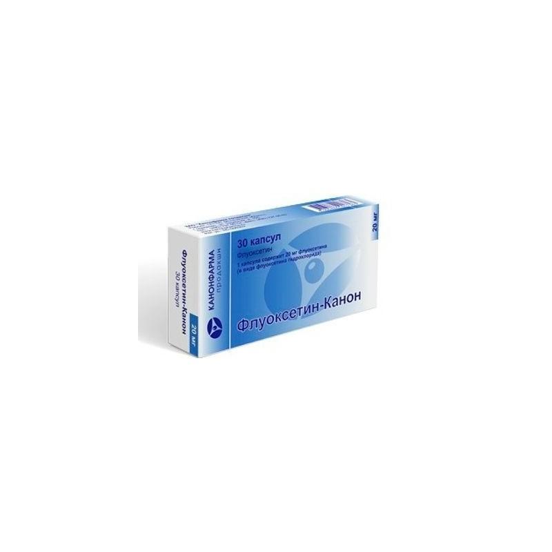 Buy Fluoxetine-Canon capsules 20 mg 30 pcs