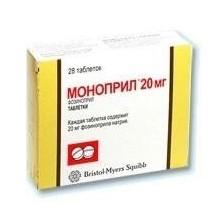 Buy Monopril pills 20 mg, 28 pcs