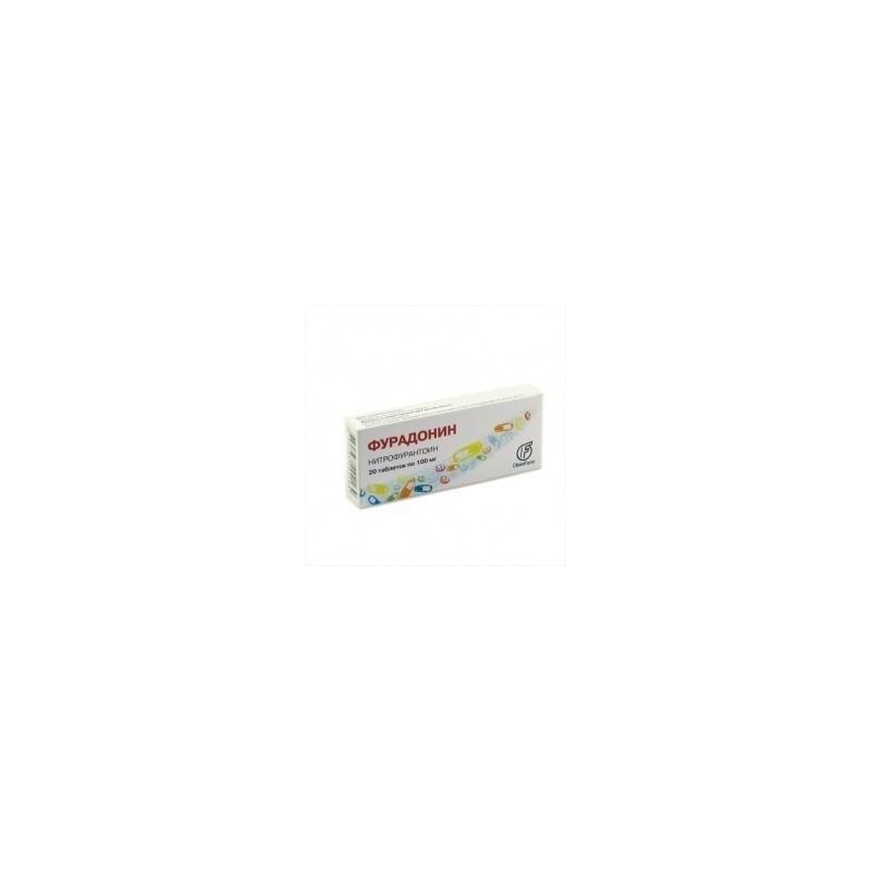 Buy Furadonin pills 100 mg, 20 pcs