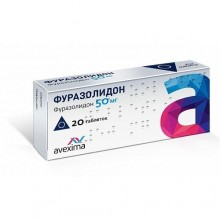 Buy Furazolidone pills 50 mg 20 pcs