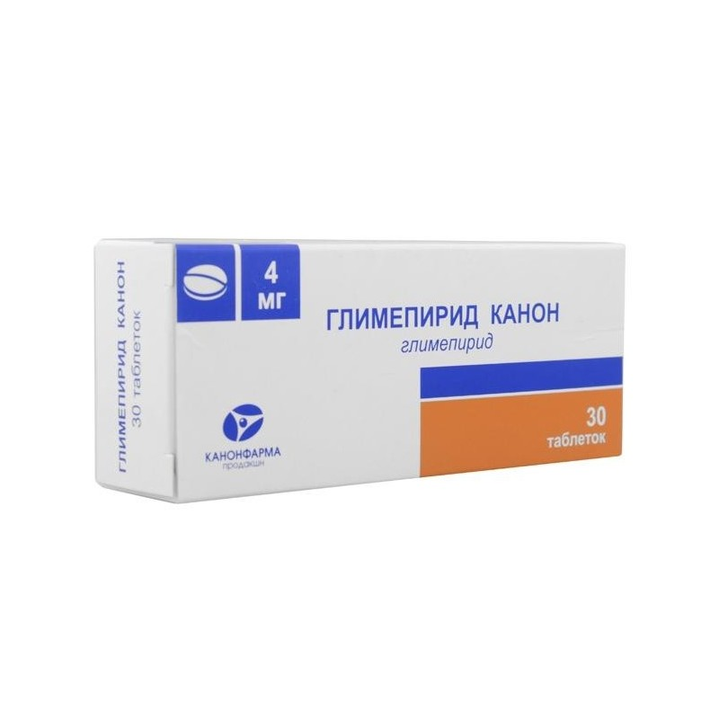 Buy Glimepiride pills 4 mg 30 pcs