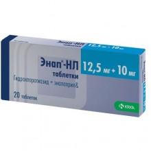 Buy Enap-nl pills 10/12.5 mg, 20 pcs