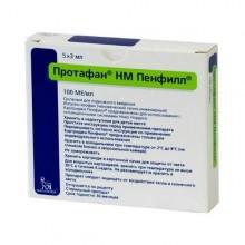 Buy Protaphane HM Penfill cartridge 100 IU/ml, 3 ml, 5 pcs