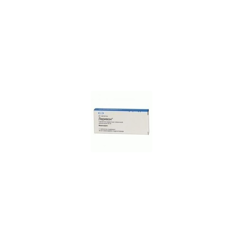 Buy Lerivon pills 30 mg, 20 pcs