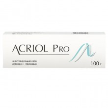 Buy Acriol Pro cream 2.5% + 2.5% 100 g