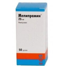 Buy Melipramin pills 25 mg 50 pcs
