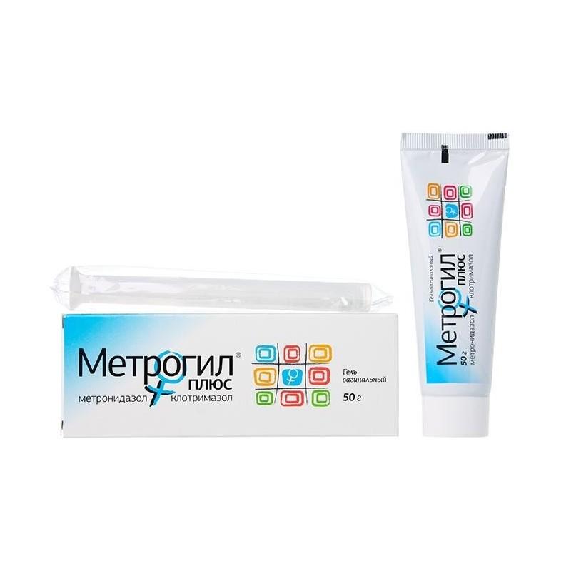 Buy Metrogyl Plus gel 50 g + applicator 1 pc.