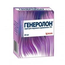 Buy Generolon spray 2% 60 ml vials
