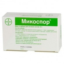 Buy Mycospor ointment 10 g, patches, sawing