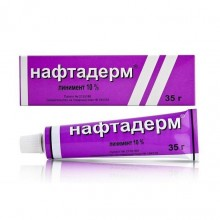 Buy Naftaderm liniment 10%, 35 g