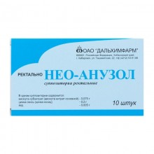 Buy Neo-Anuzol rectal suppositories 10 pcs