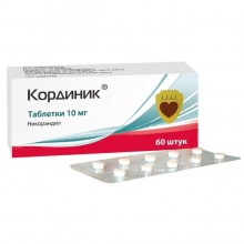 Buy Kordinik pills 10 mg 60 pcs
