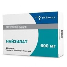 Buy Niselat pills 600 mg 20 pcs