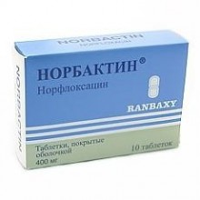 Buy Norbactin pills 400 mg 20 pcs packaging