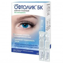 Buy Oftolik eye drops 0.4 ml, 20 pcs