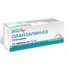 Buy Olanzapine pills 10 mg, 28 pcs