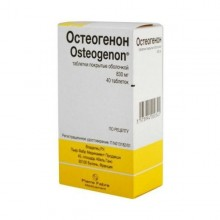 Buy Osteogenon pills 830 mg, 40 pcs
