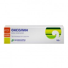 Buy Oxolin ointment 0.25% 10 g