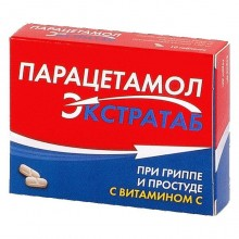 Buy Paracetamol pills 500 mg + 150 mg pills 20 pcs