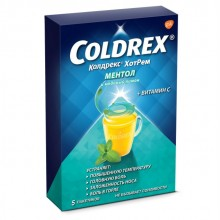 Buy Coldrex HotRem tea bags 5 g 5 pcs
