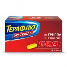 Buy Theraflu Extratab pills 10 pcs