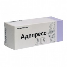 Buy Adepress pills 20 mg, 30 pcs