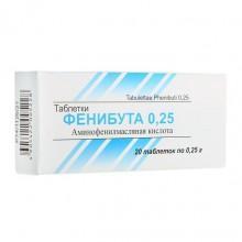 Buy Phenibut pills 250 mg 20 pcs