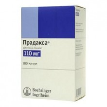 Buy Pradaxa® capsules 110 mg, 180 pcs