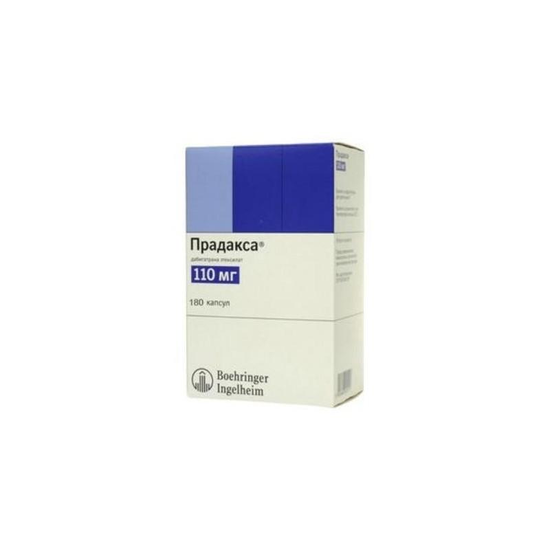 Buy Pradaxa® capsules 110 mg, 180 pcs