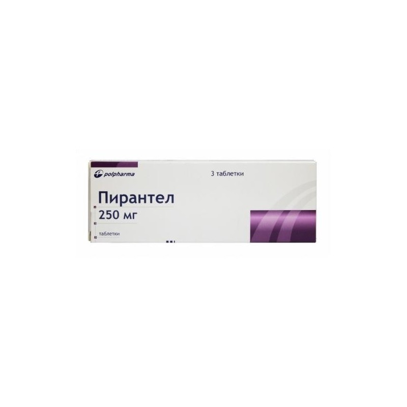 Buy Pyrantel pills 250 mg, 3 pcs