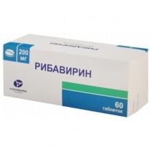 Buy Ribavirin capsules 200 mg 60 pcs 60 pcs