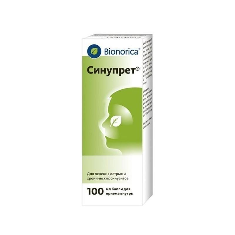 Buy Sinupret drops 100 ml
