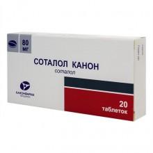 Buy Sotalol canon pills 80 mg 20 pcs