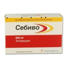 Buy Sebivo pills 600 mg, 28 pcs